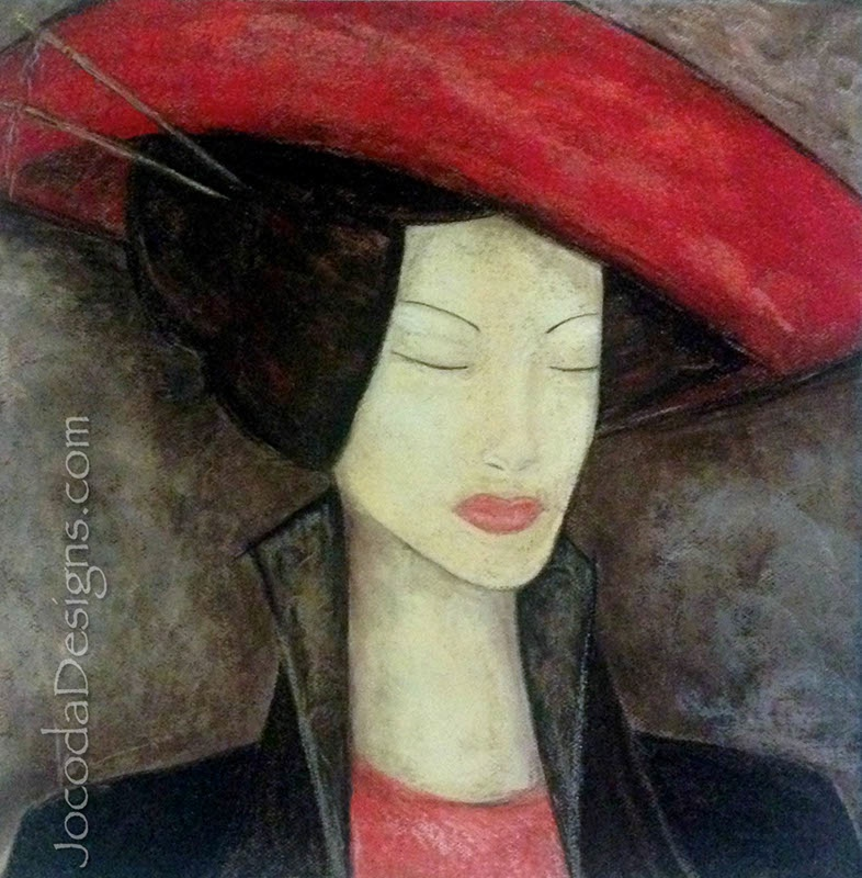 Pastel-11-The-Red-Hat-1-19X19