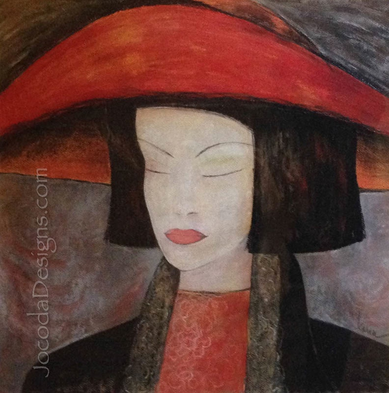 Pastel-12-The-Red-Hat-2-19X19